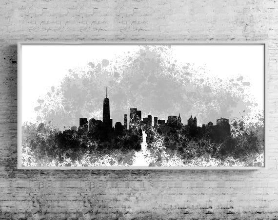 New York Canvas Travelers Gift City Wall Art New York | Etsy