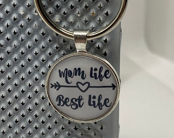 Mom Life Keychain