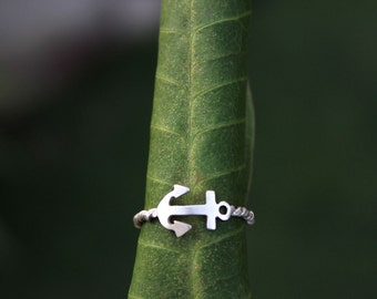 In Stock - Anchor Here Ring