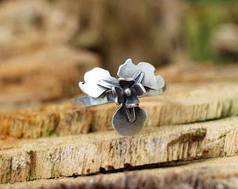 In Stock - Iris Flower Ring