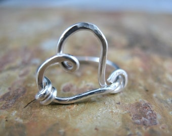 Funky Heart Ring
