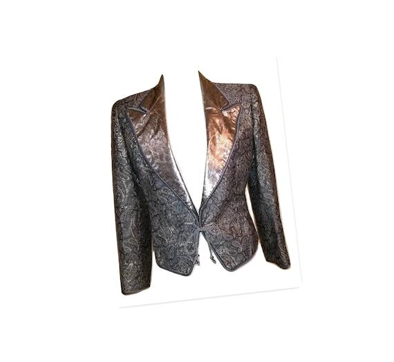 1980s Ted Lapidus Boutique Haute Couture Paris Gol