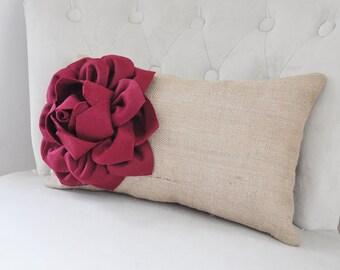 Burlap Chair Cushion | Etsy
