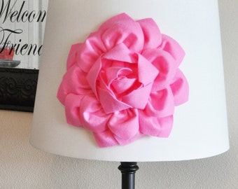 Flower Lamp Shade Etsy