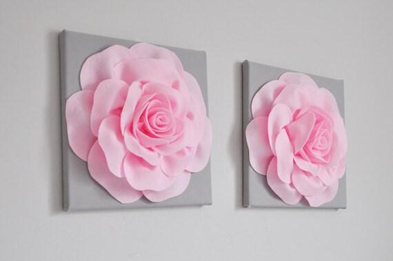 Mädchen Schlafzimmer Dekor Pink-Grau-Home Decor Baby   Etsy