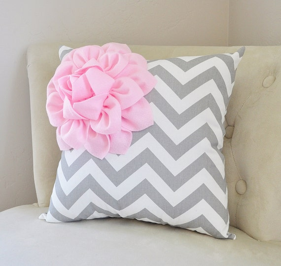 pale pink throw pillows baby pink nursery pillow chevron etsy. Black Bedroom Furniture Sets. Home Design Ideas