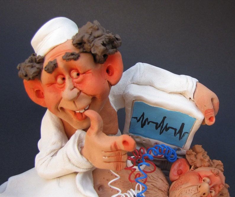 Cardiologist and His Patient