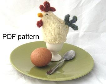 chicken egg cosy pattern - PDF