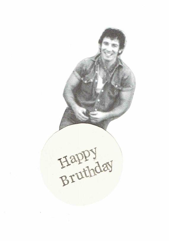 Bruce Springsteen Happy Birthday