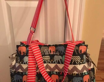 Baby Girl or Boy Diaper Bag - Choose Your Own Fabric