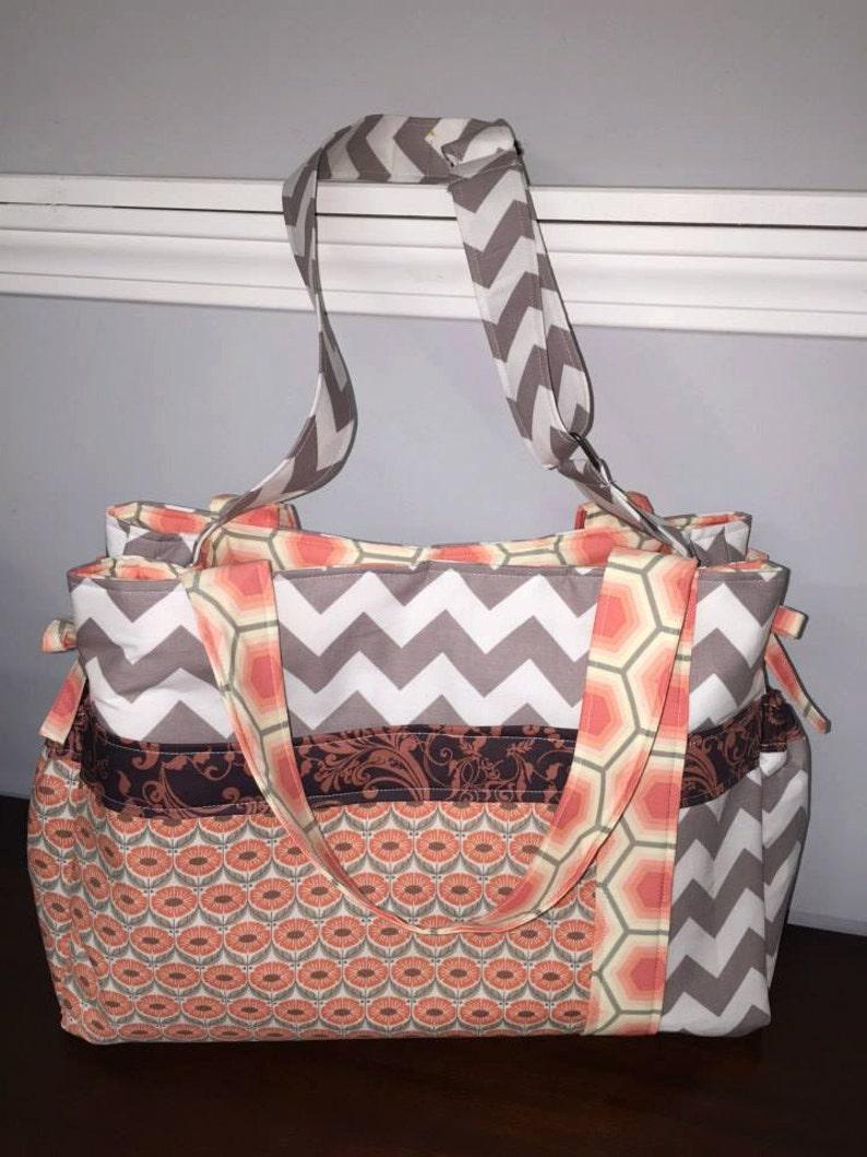 Choose Your Own Fabric Girls/' Diaper Bag