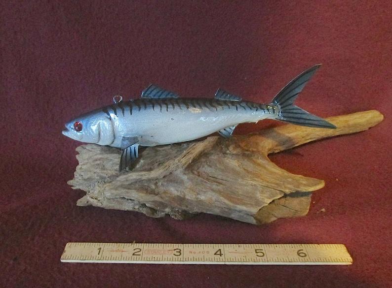 WAS 50 MACKEREL! James Stangland Saltwater Fish decoyCarving SALE