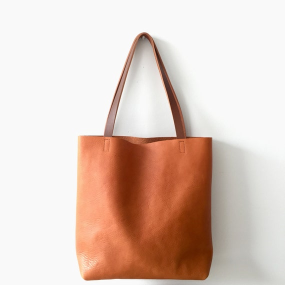 bc8f76c6afc6 Huge Sale SALE 20% OFF camel Brown Leather Tote Bag