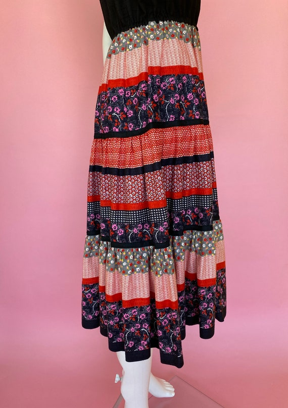 60's dress cute prairie square dance country west… - image 5