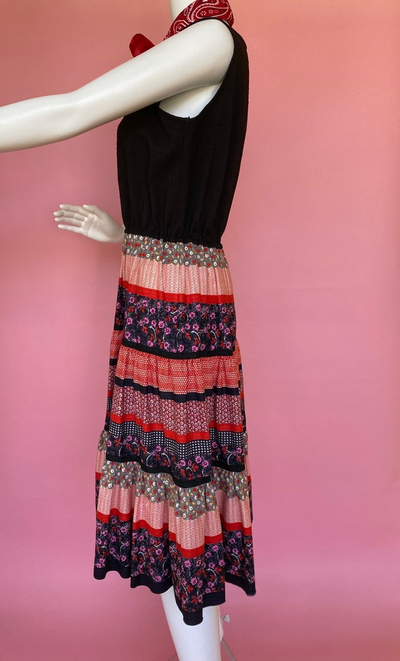 60's dress cute prairie square dance country west… - image 3