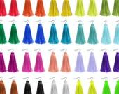 Long Tassel Earrings, Colorful Leather Earrings Rainbow Tassel Jewelry Bridesmaids Earring Color Fringe Earrings Tassel Statement Earring