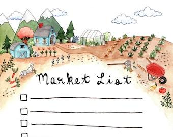Market Notepad