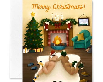 Christmas Buns Card