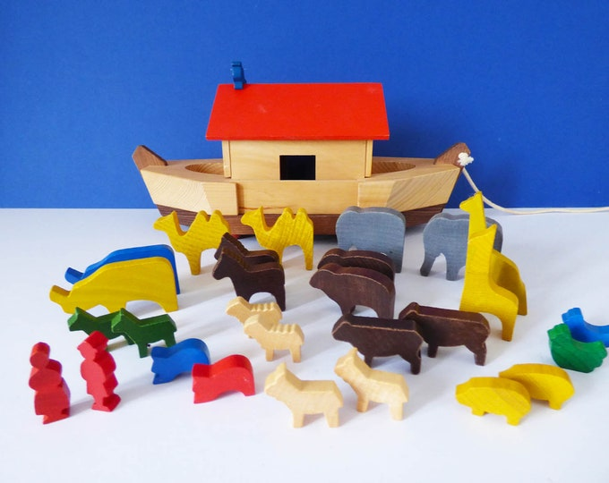 Noahs Ark  toy West German Vintage