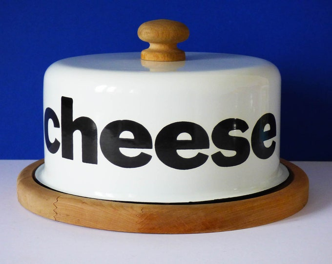 Vintage Enamel cheese dome