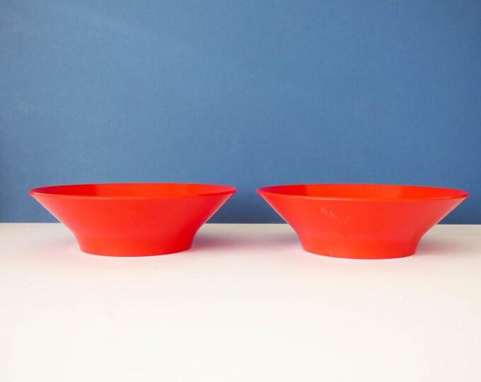 Vintage Henning Koppel melamine bowls designed for Torben Ørskov of Denmark