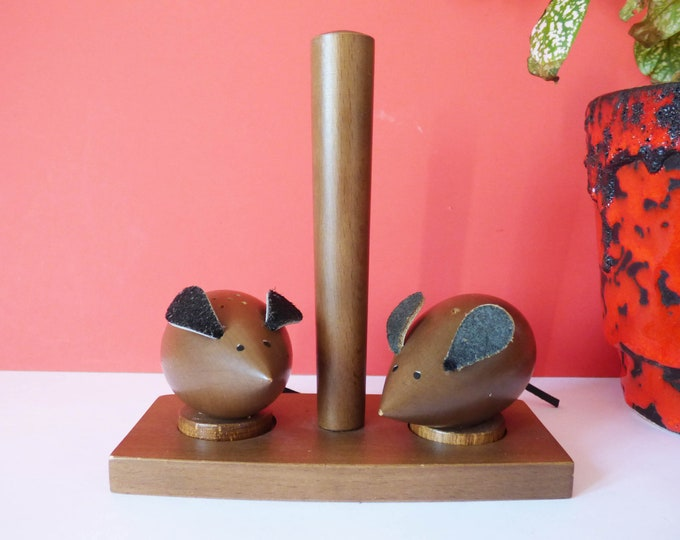Mice salt and pepper set Vintage