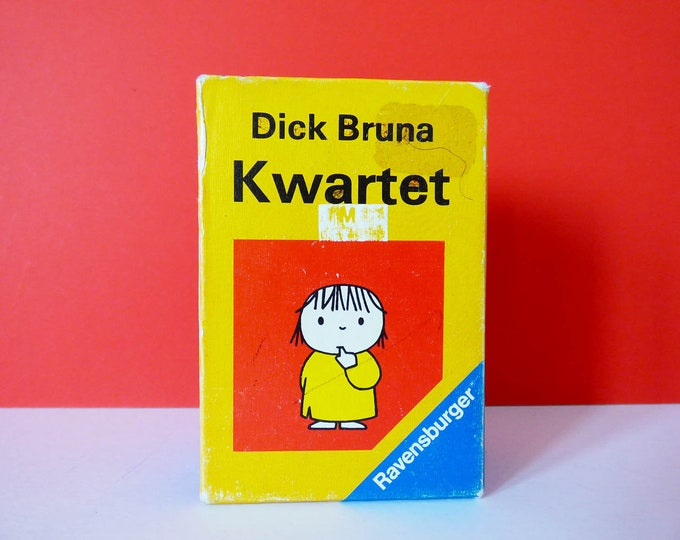 Vintage Happy families Dick Bruna creator of Miffy