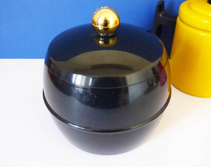 Mid Century vintage Insulex 1960's ice bucket