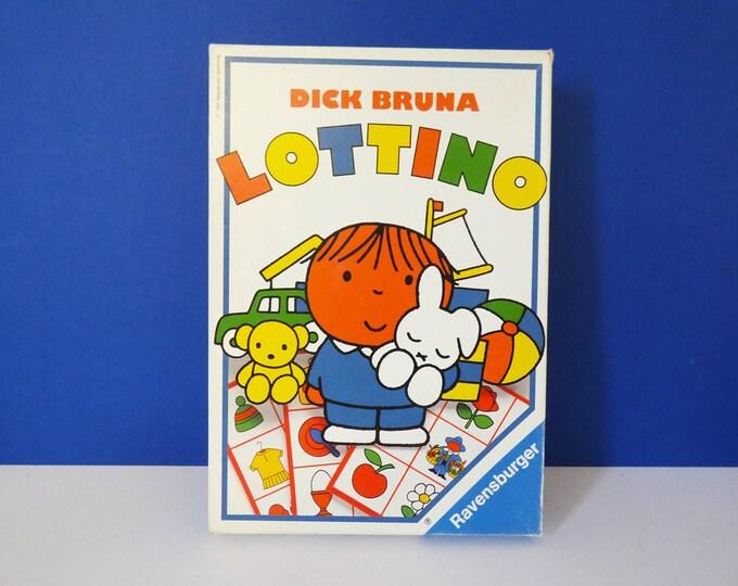 Vintage Dick Bruna Lotto game Miffy