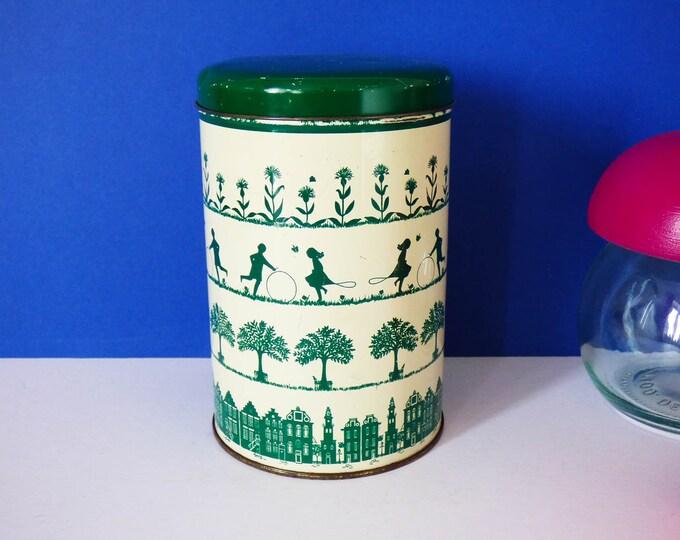 Vintage storage tin Tomado