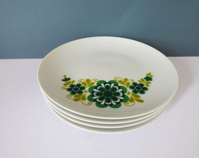 Daisy side plate x 4 Vintage by Bavaria