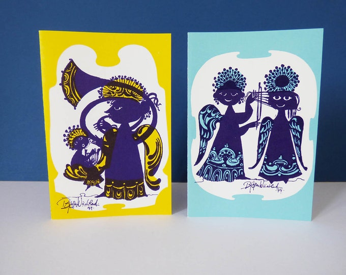 Bjorn Wiinblad Tubor & Angels Greetings cards