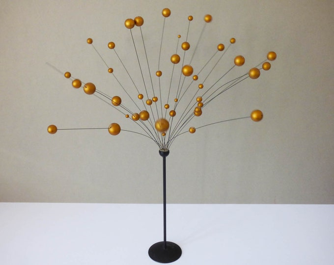 Laurids Lonborg Atomic balls kinetic Sculpture1960's