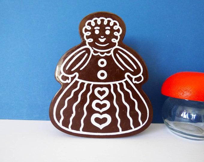 Vintage plastic gingerbread box  Erik Kold Denmark