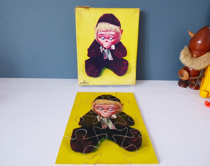 Vintage Monkey Jigsaw puzzle