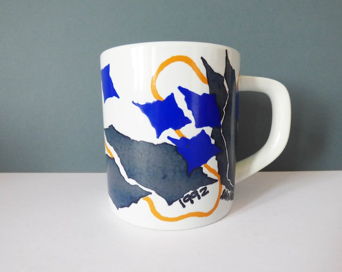 1992 Royal Copenhagen Annual mug Lin Utzon