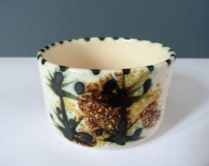Celtic Pottery Sugar Bowl