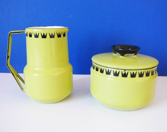 1960's Glud Marstrand Dan Kok Milk jug and suger bowl