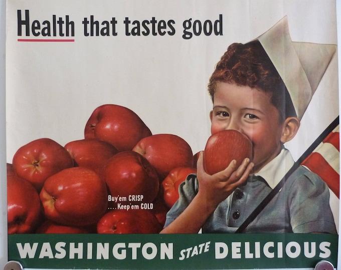 Original Washington state poster 1950's