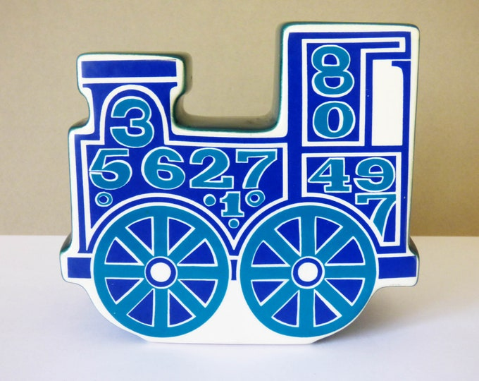 Carlton Ware Money box Train shaped