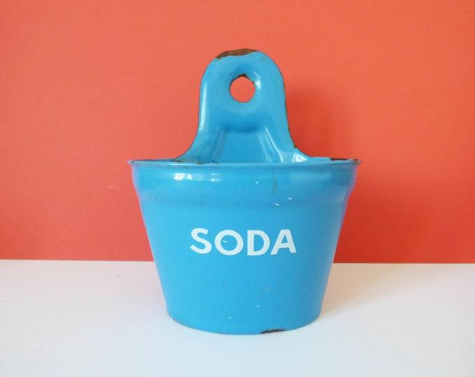 Enamel soda pot Madam Blue Denmark