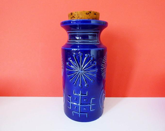 Storage Jar Portmeirion Totem in blue