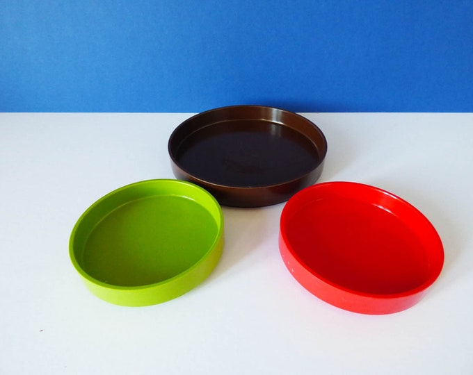 1970's Swedish Melamine coasters