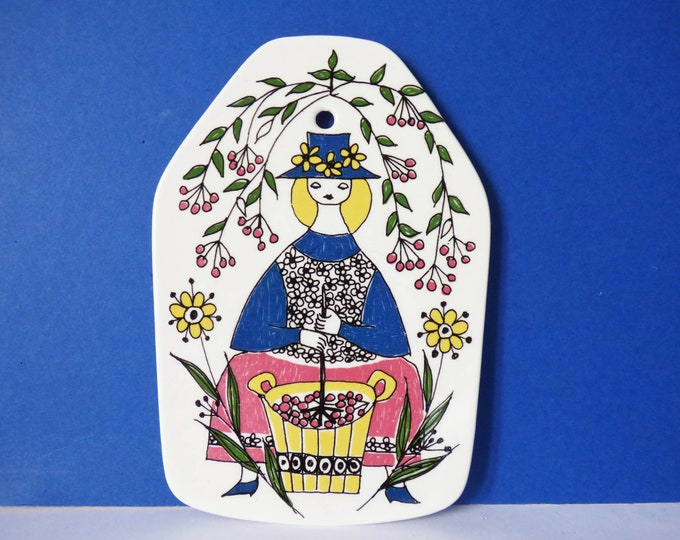 Figgjo Flint butter plaque from Norway