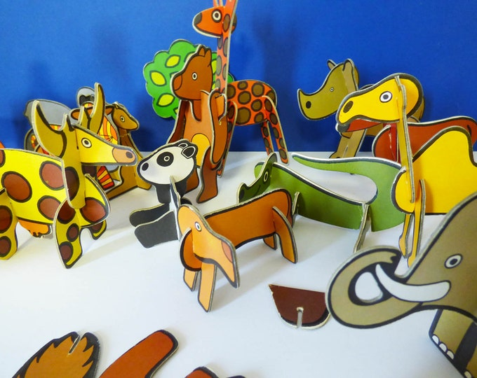 Vintage jigbits puzzle by kiddicraft 1976