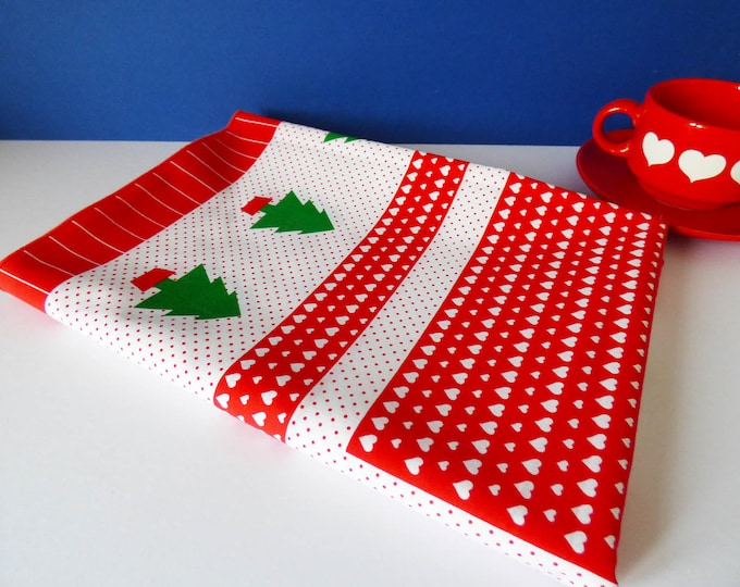 Large Christmas tablecloth