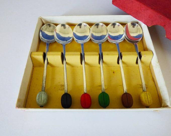 Coffee Bean Spoons  vintage