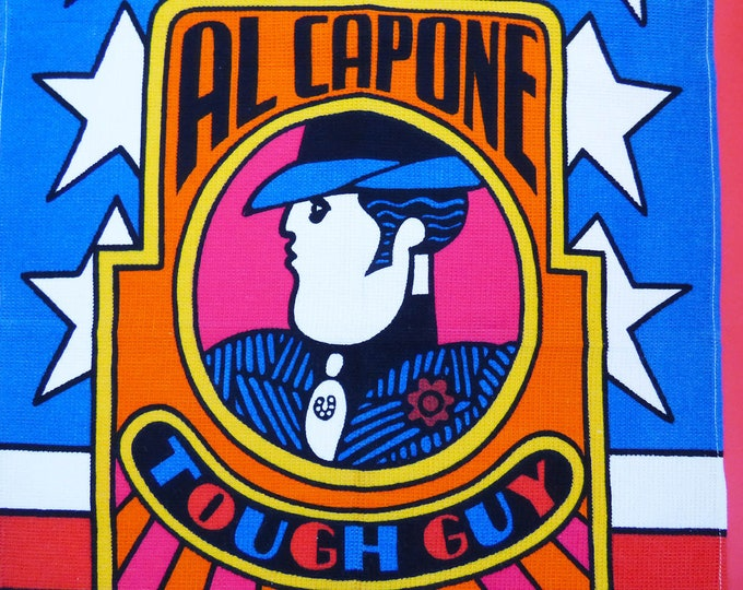 Astrop / Hill Al Capone Rare Tea towel