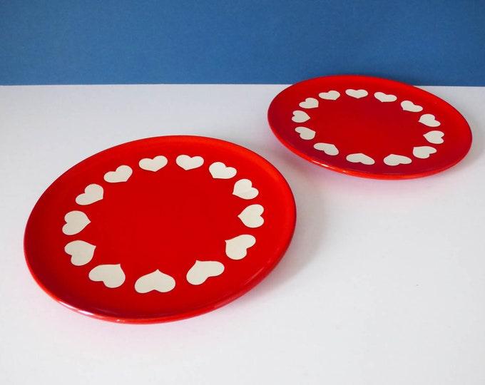 Waechtersbach heart design side plates
