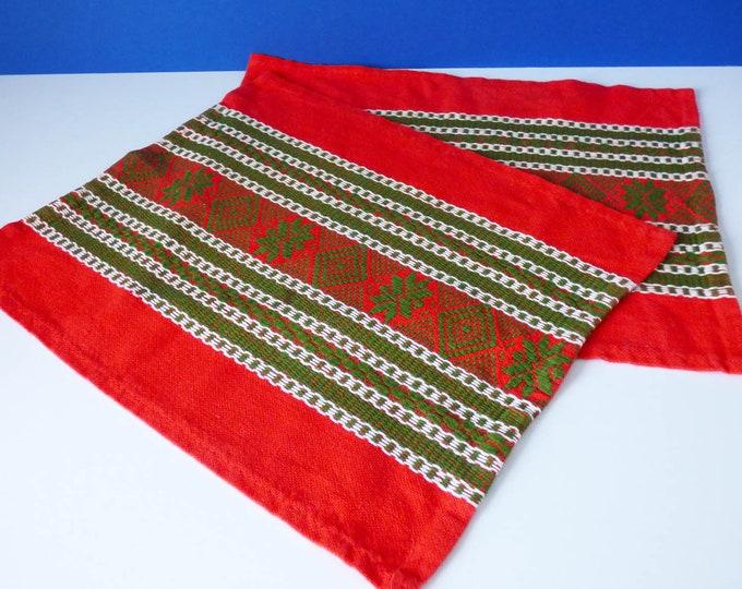 1970's Swedish woven table mats